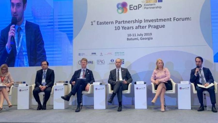 Հայաստանի պատվիրակությունը մասնակցում է Արևելյան գործընկերության 1-ին ներդրումային համաժողովին