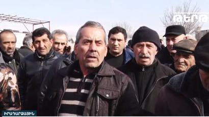  tert.am  Առատաշեն գյուղի բնակիչները բողոքի ակցիա են անում համայնքների խոշորացման դեմ․ Ուղիղ