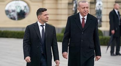 Էրդողանը ժամանել է Կիև և «Փա՛ռք Ուկրաինային» արտահայտությամբ ողջունել պատվո պահակախմբին |tert.am|