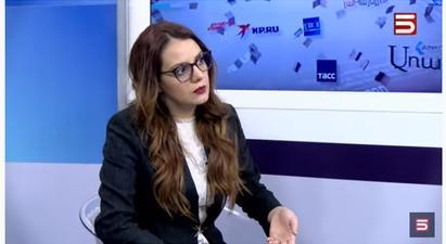 Analitik.am լրատվական կայքի խմբագիր Անի Հովհաննիսյանը ոչ ճիշտ պնդումով է հանդես եկել 5-րդ ալիքի եթերում