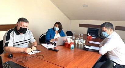 Քննարկվել են Հյուսիս-հարավի Քաջարան-Ագարակ ճանապարհահատվածի կառուցման հետ կապված հարցեր