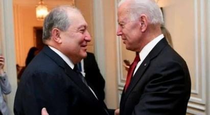 ՀՀ նախագահ Արմեն Սարգսյանը շնորհավորել է Միացյալ Նահանգների 46-րդ նախագահ ընտրված Ջո Բայդենին