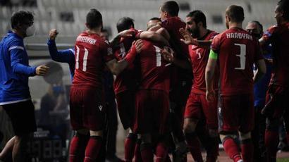 Հայաստանի ֆուտբոլի ընտրանին հաղթեց Հյուսիսային Մակեդոնիային և ենթախմբում գրավեց առաջին տեղը |armenpress.am|
