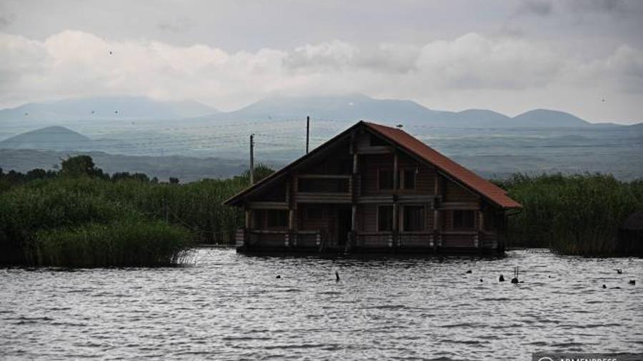 Սեւանա լճի մակարդակը նախորդ տարվա հունվարի 14-ի համեմատ բարձր է մնում 10 սանտիմետրով |armenpress.am|