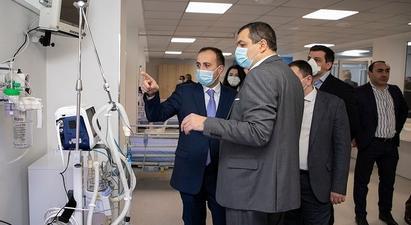 «Սուրբ Գրիգոր Լուսավորիչ» բժշկական կենտրոնը նոր վերակենդանացման բաժանմունք ունի