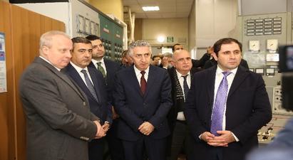 Սուրեն Պապիկյանը և Սերգեյ Կոպիրկինը այցելել են Հայկական ԱԷԿ