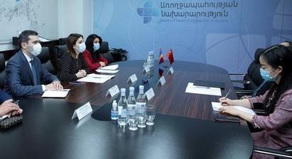 Անահիտ Ավանեսյանը ՀՀ-ում Չինաստանի դեսպանի հետ քննարկել է համագործակցության շրջանակները