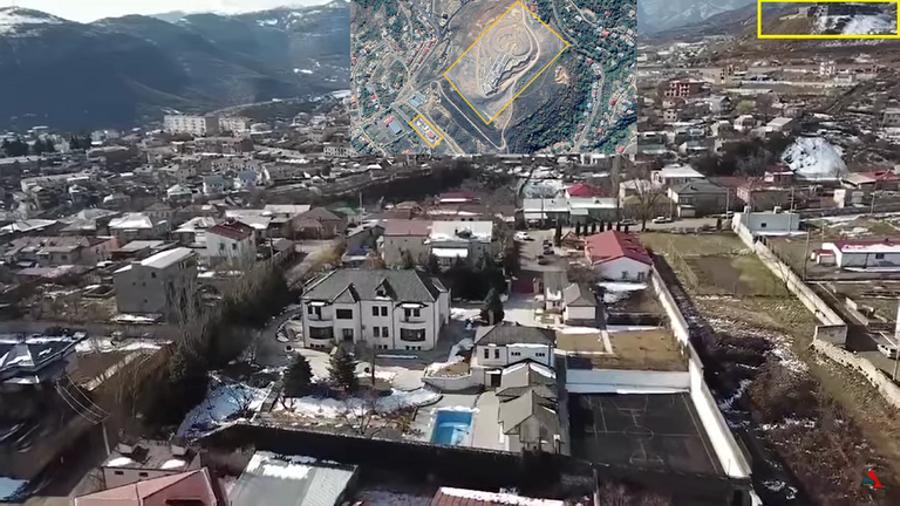 Տարածվող տեսանյութում ներկայացված առանձնատներից մի քանիսը հաստատապես Արցախում են
