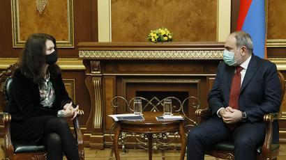 Վարչապետ Փաշինյանն ընդունել է ԵԱՀԿ գործող նախագահ Անն Լինդեի գլխավորած պատվիրակությանը
