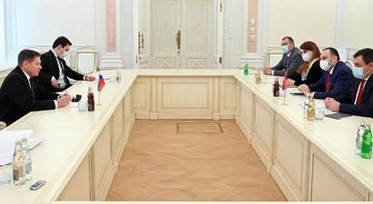 ԲԴԽ նախագահի գլխավորած պատվիրակությունը պաշտոնական այցով Մոսկվայում է