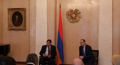 ԲԴԽ նախագահը հանդիպել է Մոսկվայում աշխատող հայ իրավաբանների հետ