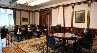 Նախագահը հանդիպել է Ռուբեն Վարդազարյանին. ԲԴԽ նախագահը կառույցի դիրքորոշումն է հայտնել դատական օրենսգրքի փոփոխությունների վերաբերյալ