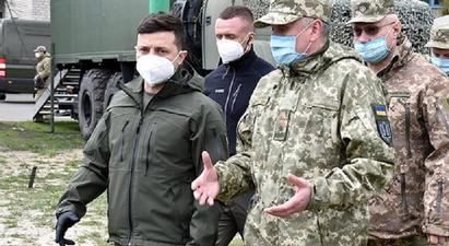 Ուկրաինայի նախագահը այցելել է Դոնբաս |1lurer.am|