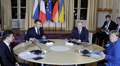 Կիևը հայտարարել է առանց Պուտինի մասնակցության Զելենսկի-Մակրոն-Մերկել հանդիպման մասին |tert.am|