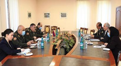 ՀՀ ԶՈՒ գլխավոր շտաբի պետն Իրանի դեսպանի հետ քննարկել է համագործակցությունը պաշտպանական բնագավառում