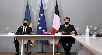 Զելենսկին Մակրոնին առաջարկել է քննարկել Ուկրաինայի անդամակցության հարցը ԵՄ-ին և ՆԱՏՕ-ին  |1lurer.am|