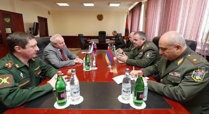 ՀՀ ԶՈՒ ԳՇ պետը և ՀՀ-ում ՌԴ դեսպանը քննարկել են ռազմատեխնիկական համագործակցության զարգացման հետագա ծրագրերը