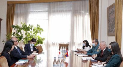 Անդրանիկ Փիլոյանն ընդունել է ՀՀ-ում Ճապոնիայի դեսպանին