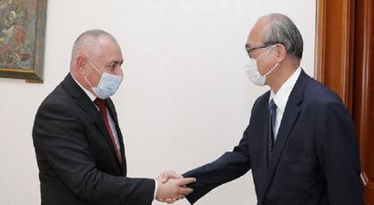 Ճապոնիան պատրաստ է ընդլայնել Հայաստանի հետ գործակցության շրջանակը