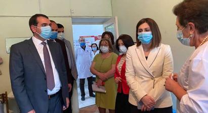 Առողջապահության նախարարի պաշտոնակատարի գնահատմամբ՝ պատվաստումների ընթացքը դեռ գոհացուցիչ չէ   |armenpress.am|