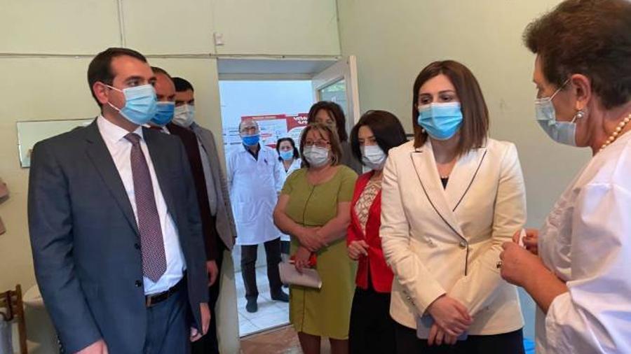 Առողջապահության նախարարի պաշտոնակատարի գնահատմամբ՝ պատվաստումների ընթացքը դեռ գոհացուցիչ չէ    armenpress.am 