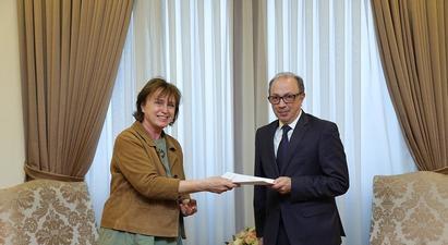 ԱԳ նախարարը Մարտինա Շմիդտի հետ հանդիպմանը կարևորել է ռազմագերիների վերաբերյալ ՄԻԵԴ-ի միջանկյալ որոշումների կատարումը