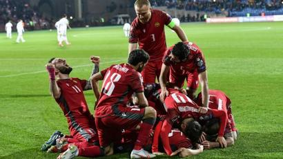 Հայաստանի ֆուտբոլի ազգային թիմը ոչ-ոքի ավարտեց հանդիպումն աշխարհի փոխչեմպիոնների հետ