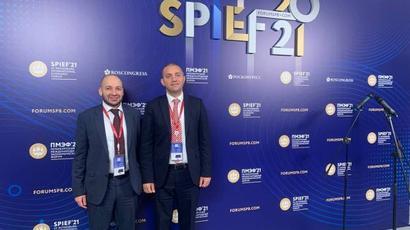 Վահան Քերոբյանը մասնակցում է Պետերբուրգյան միջազգային տնտեսական համաժողովին