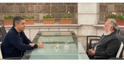 Արթուր Վանեցյանն Արցախում հանդիպել է Ամենայն Հայոց կաթողիկոս Գարեգին Բ-ին