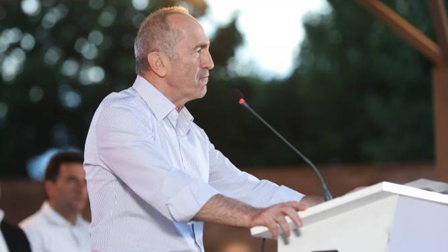 Ռոբերտ Քոչարյան․ «Մենք գալիս ենք Երևանը նորից շինհրապարակի վերածելու համար» |hetq.am|