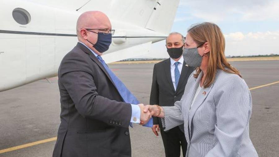 ԱՄՆ պետքարտուղարի տեղակալի պաշտոնակատար Ֆիլիպ Ռիքերին ժամանել է Հայաստան