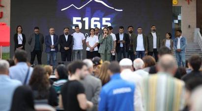 «5165» շարժման անդամները Վանաձորում ընտրողներին ներկայացրել են իրենց նախընտրական ծրագիրը
