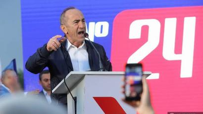 A polarized society cannot be constructive towards each other: Kocharyan promises to eliminate enmity in Armenia