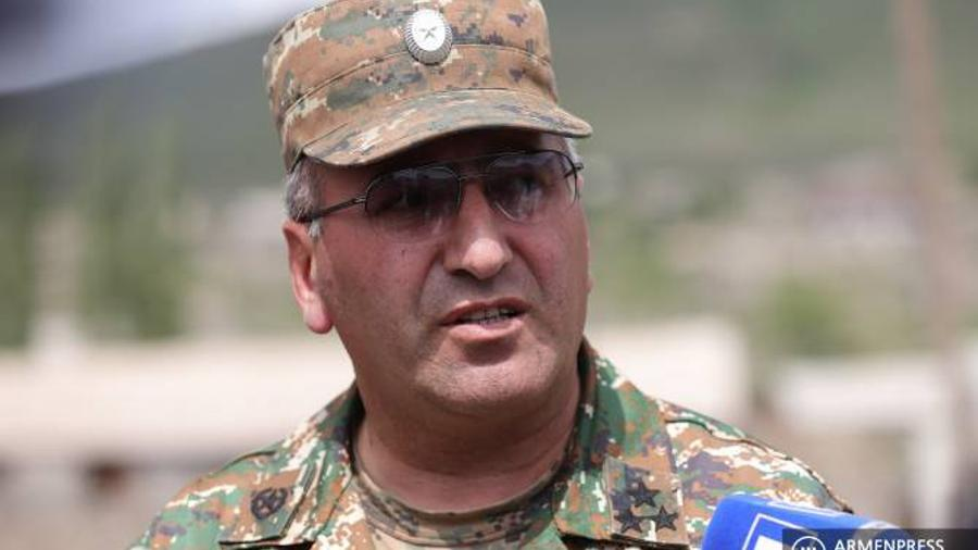 Գնդապետ Հայկ Պետրոսյանը կոչ է անում քաղաքական ուժերին զերծ պահել բանակը քաղաքական շահարկումներից |armenpress.am|