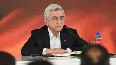 Serzh Sargsyan declares there was no talk about enclaves during his administration