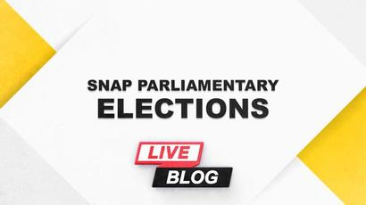 Snap parliamentary elections 2021: election campaign day 9. Updates