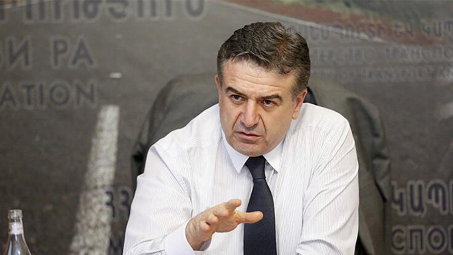 Robert Kocharyan to offer a post to Ex-PM Karen Karapetyan
