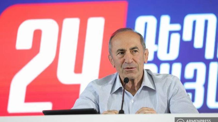 Քոչարյանն ակնհայտ է համարում, որ ընտրություններում 2 ուժ է պայքարում առաջատար դիրքերում |armenpress.am|