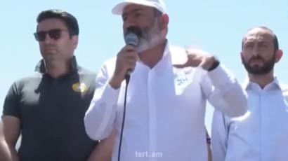 Nikol Pashinyan promises $ 1000 for a video testifying about election bribe