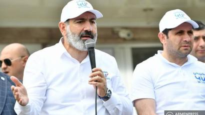 PM candidate Pashinyan on the issue of Amulsar