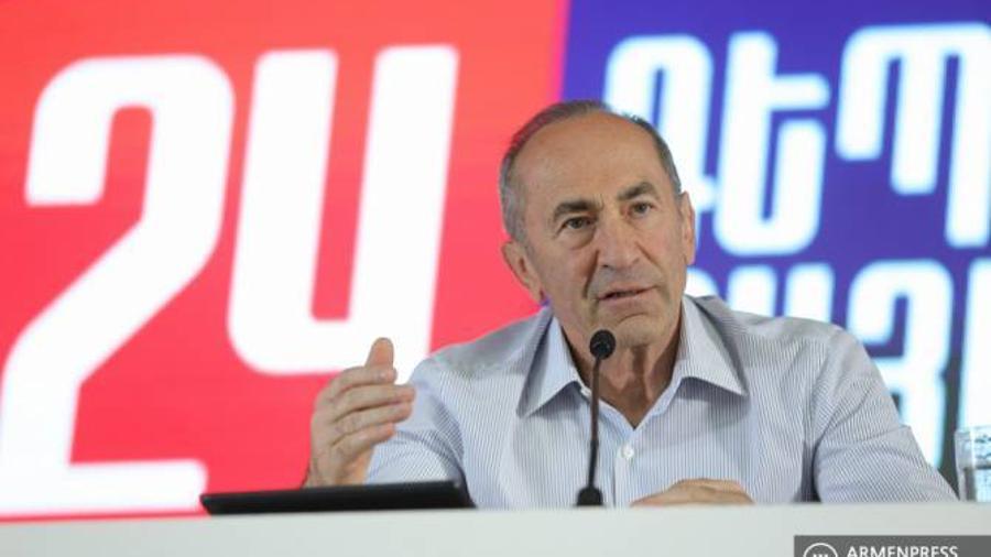 Ընտրությունը ճակատագրական է. Քոչարյանը վստահեցրեց՝ իրենց ուժն ի զորու է ապահովել երկրի անվտանգությունը |armenpress.am|