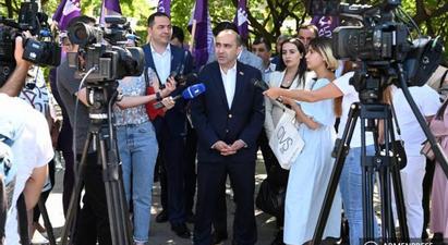 Էդմոն Մարուքյանը կարևորեց ազգային համաձայնության և միասնության կառավարության ձևավորումը |armenpress.am|