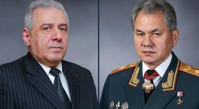 Վաղարշակ Հարությունյանն ու Սերգեյ Շոյգուն քննարկել են հայ-ադրբեջանական սահմանային իրադրությունը