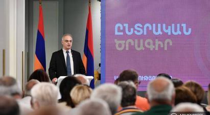 Սա մեզ համար ավելի շատ ոչ թե ընտրապայքար է, այլ՝ պետությունը փրկելու հատուկ օպերացիա. Լևոն Զուրաբյան |armenpress.am|