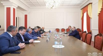 ԱԺ խմբակցությունների ներկայացուցիչները հանդիպել են ՀԱՊԿ ԽՎ դիտորդների հետ