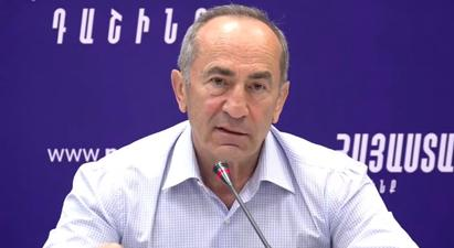 Robert Kocharyan finds it difficult to see himself in the newly-elected Parliament