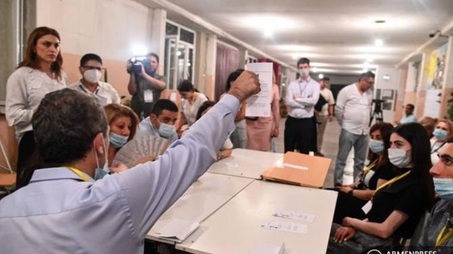 CEC presented the results of the vote recount in some polling stations