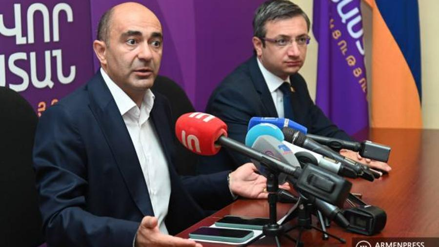 "Edmon Marukyan presented the upcoming actions of ""Bright Armenia"""