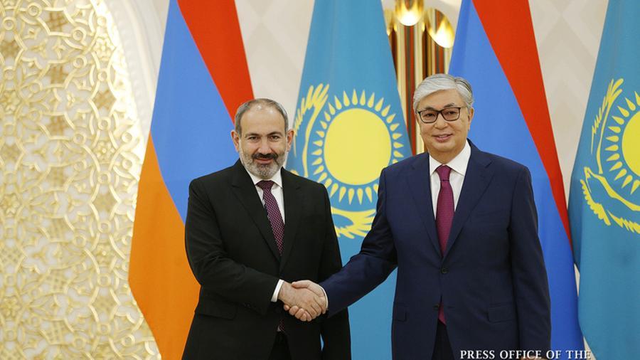President of Kazakhstan Kassym-Jomart Tokayev congratulated Nikol Pashinyan