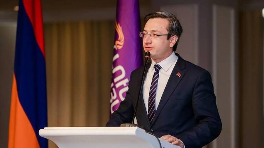 "Gevorg Gorgisyan  elected vice-chairman of the ""Bright Armenia"" party"
